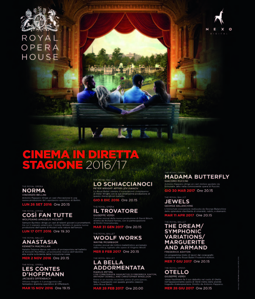 royal opera house cinema in diretta 2016-2017